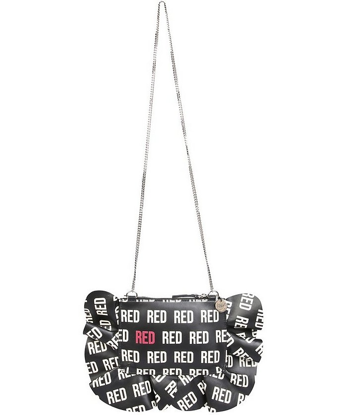 """Rock Ruffles"" Pouch - RED Valentino"