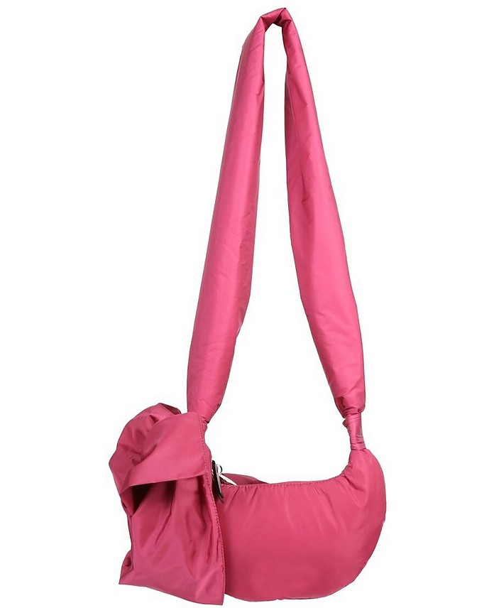 Fuchsia Medium Hobo Bag - RED Valentino
