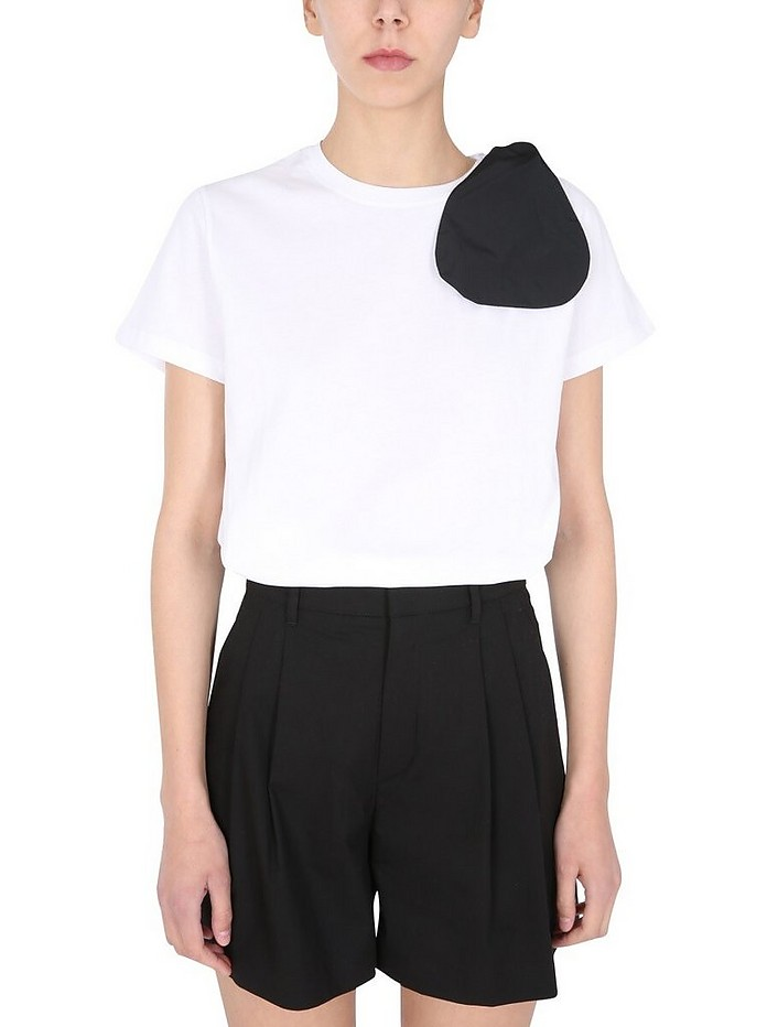 T-Shirt With Bow - RED Valentino