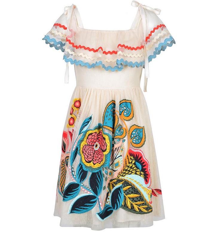 Women's Beige Dress - RED Valentino