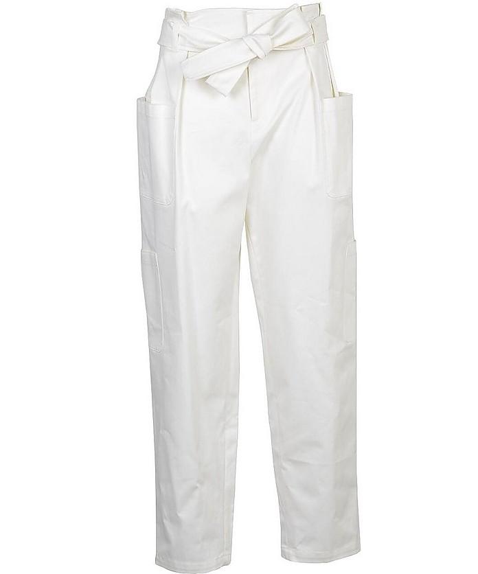 Women's White Pants - RED Valentino