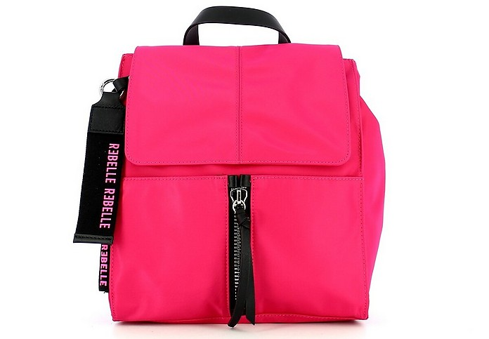 Women's Pink Backpack - REBELLE