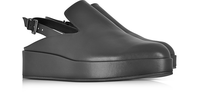 44c569e971ea Nalice Black Leather Flatform Sandals - Robert Clergerie.  238.00  595.00  Actual transaction amount