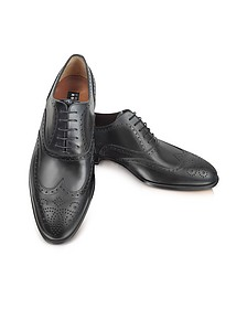 Anilcalf - Chaussures Oxford en cuir noir - Fratelli Rossetti