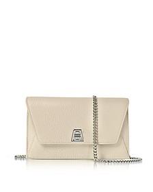 Stucco Leather Anouk Mini Envelope Bag - Akris