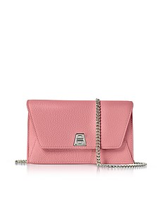 Water Lily Leather Anouk Mini Envelope Bag - Akris