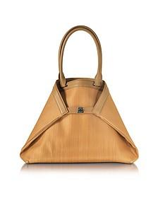 Ai Medium Camel Horsehair Tote Bag - Akris
