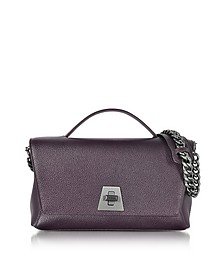 Anouk Borsa con Tracolla in Pelle Blackberry - Akris