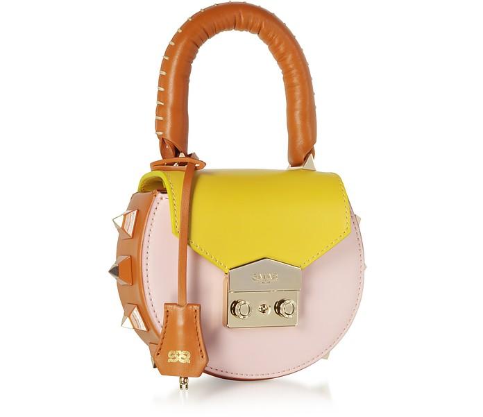 Leather Mini Salar Pink Sur Melon Bag And Mimi Shoulder Forzieri Sun TwnFqWSq8t