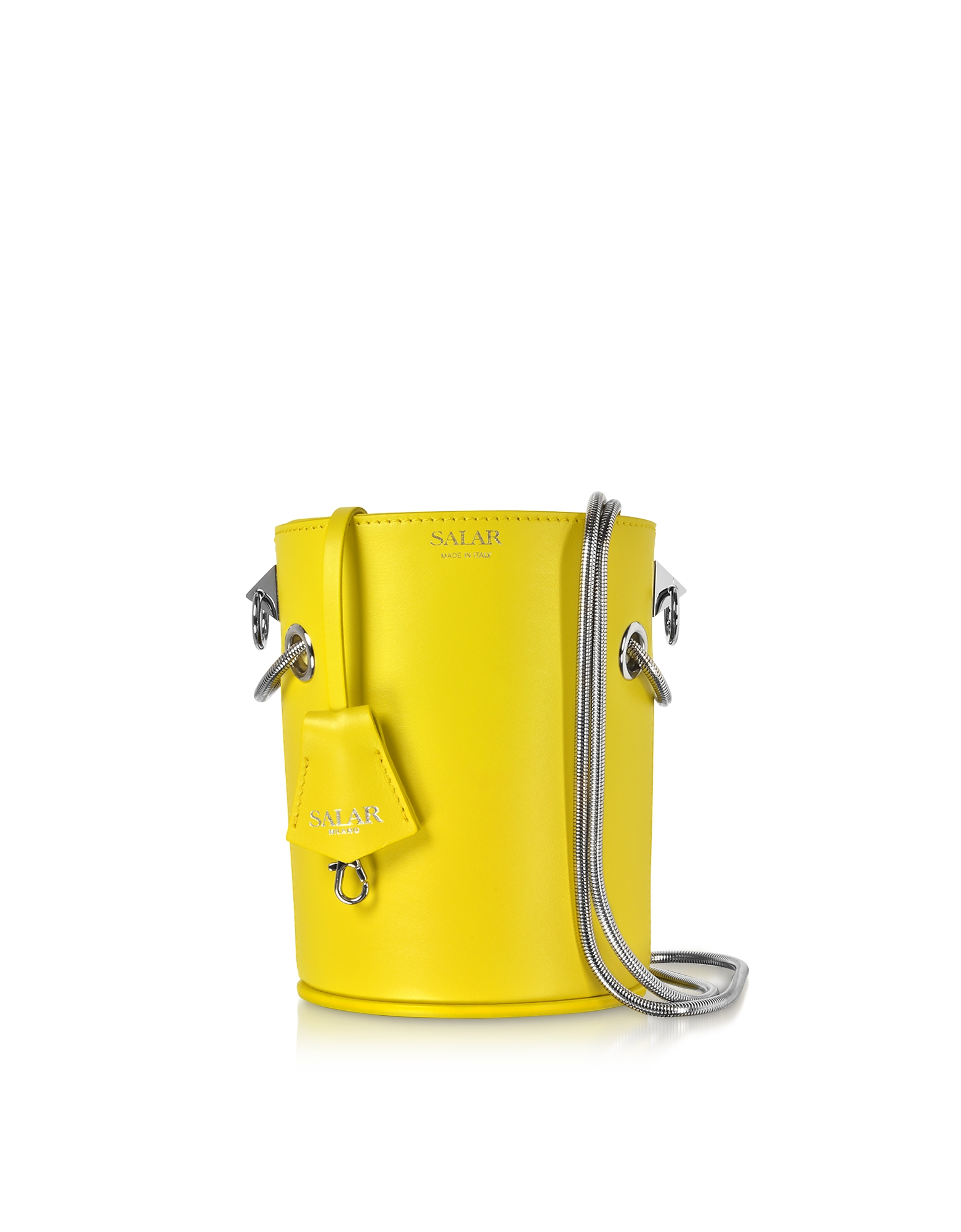 Salar CELIA LEATHER BUCKET BAG