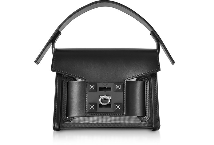 Gaia Mesh Mini Crossbody Bag - Salar