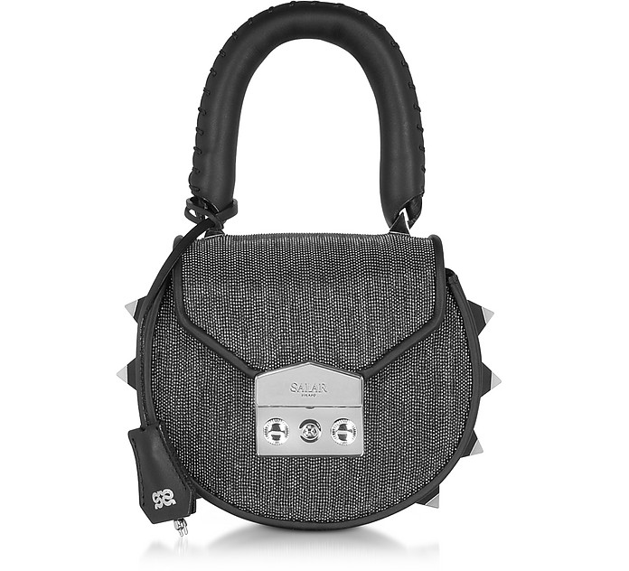 Mimi Mini Disco Gunmetal Shoulder Bag - Salar