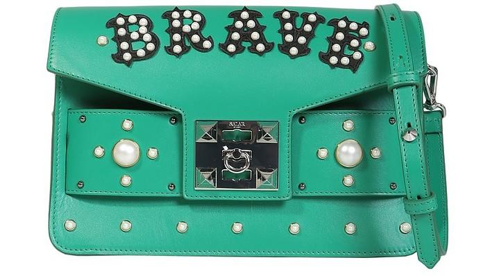 Ana Brave Crossbody Bag - Salar