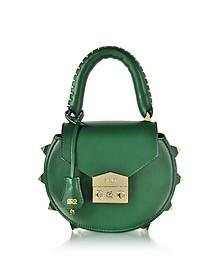 Mimi Green Leather Shoulder Bag - Salar
