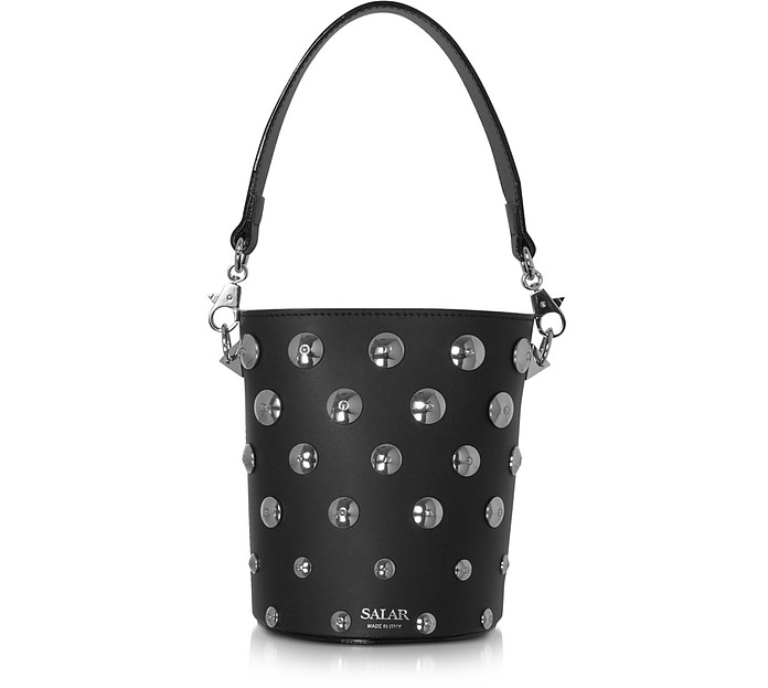 Black Celia Moon Bucket Bag - Salar