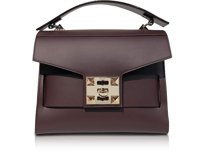 Gigi Top-Handle Satchel Bag - Salar