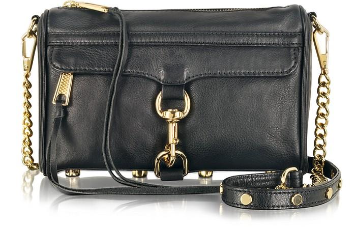 Mini M.A.C. Leather Clutch w/Shoulder Strap  - Rebecca Minkoff