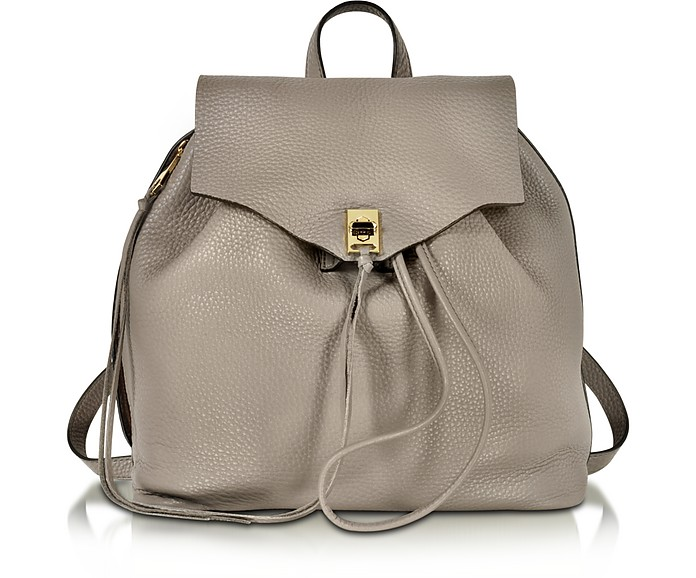 Darren Mushroom Leather Backpack - Rebecca Minkoff