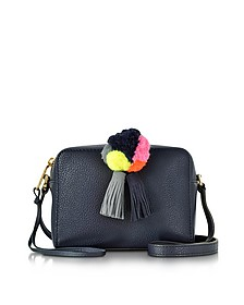 Pom Pom Moon Leather Mini Sofia Crossbody - Rebecca Minkoff