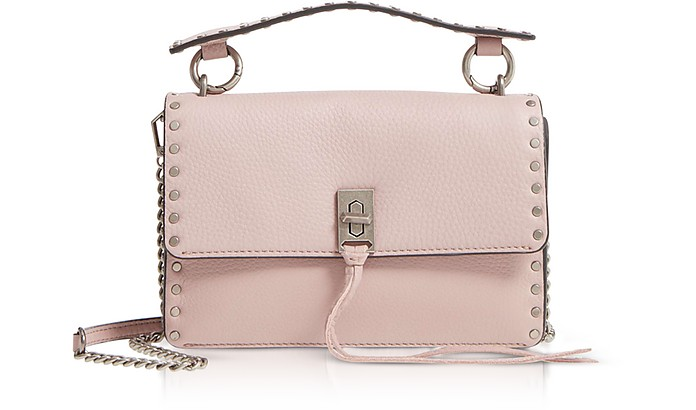 Rebecca Minkoff Tops Vintage Pink Leather Darren Top Handle Flap Crossbody