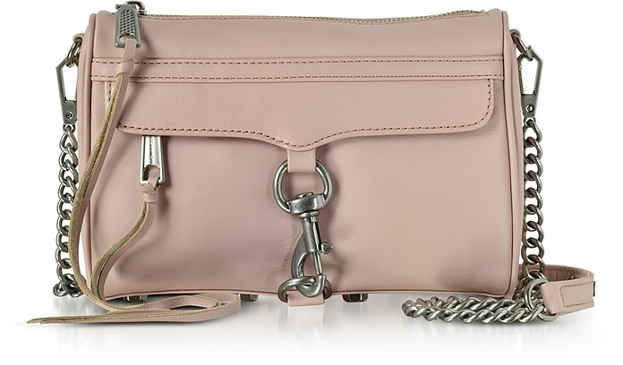 Rebecca Minkoff  VINTAGE PINK MINI MAC CLUTCH/SHOUDLER BAG