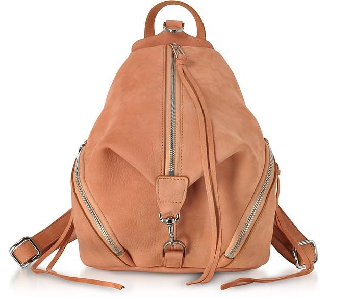 Desert Nubuck Julian Medium Backpack - Rebecca Minkoff