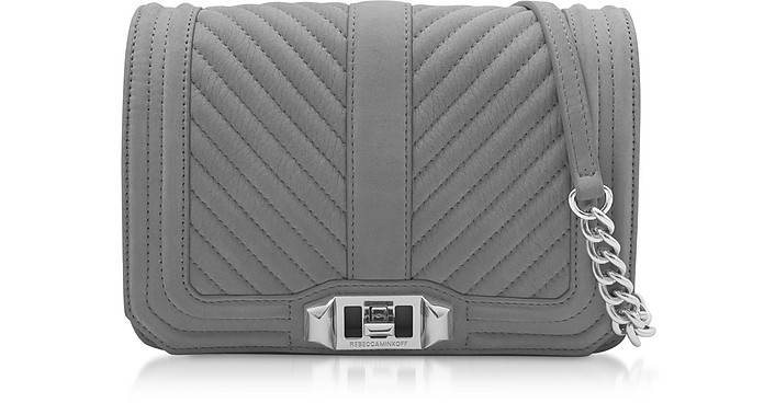 Chevron Quilted Small Love Crossbody - Rebecca Minkoff