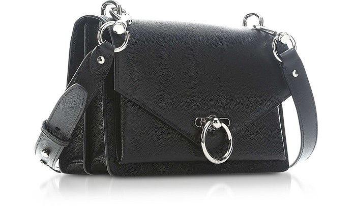cfec744f26fa Black Caviar Leather Jean Medium Shoulder Bag - Rebecca Minkoff. C 329.50  C 659.00 Actual transaction amount