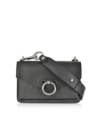 02d4bb7bcb Black Caviar Leather Jean Xbody Bag - Rebecca Minkoff