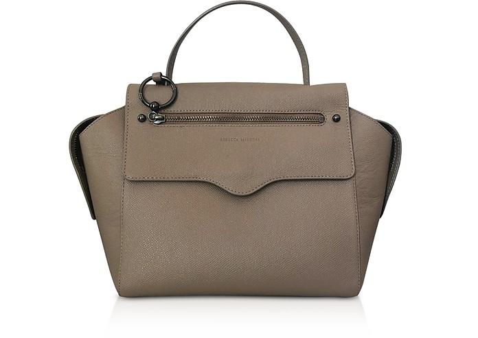 Gabby Sandrift Leather Satchel Bag - Rebecca Minkoff