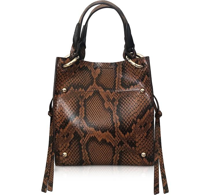 Kate Mini Equestrian Leather Tote Bag - Rebecca Minkoff