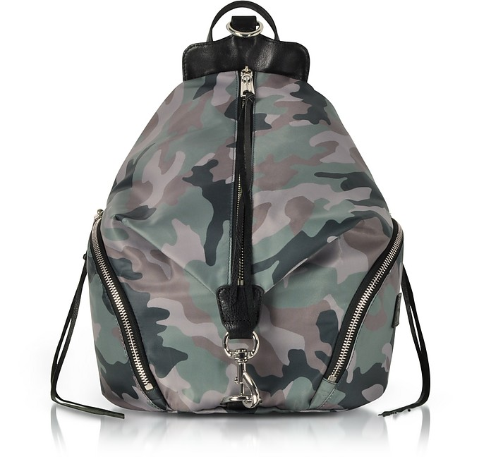 Julian Nylon Backpack Rebecca Minkoff Verde Militare RHcJwP