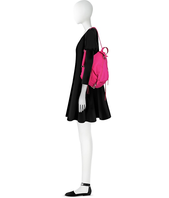 Julian Nylon Backpack Rebecca Minkoff Rosso Magenta X0Ndv