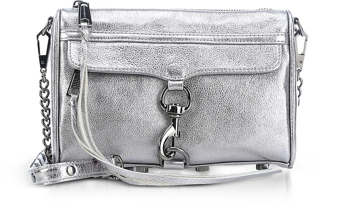 Laminated Mini M.A.C. Crossbody Bag - Rebecca Minkoff