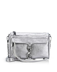 Laminated Chevron Quilted Small Love Crossbody Bag - Rebecca Minkoff