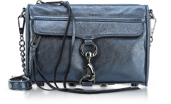 Laminated Mini M.A.C. Crossbody Bag - Rebecca Minkoff