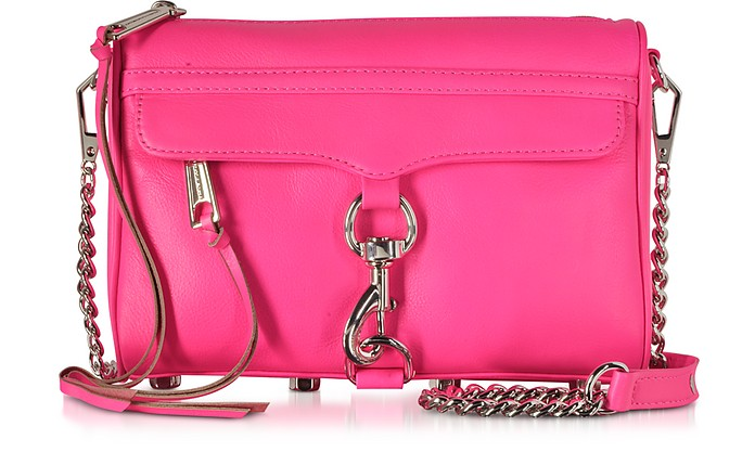 Electric Pink Mini MAC Crossbody Bag - Rebecca Minkoff