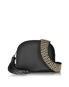 Sunday Moon Crossbody aus Leder in schwarz - Rebecca Minkoff