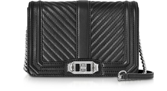 Small Quilted Leather Love Crossbody Bag - Rebecca Minkoff