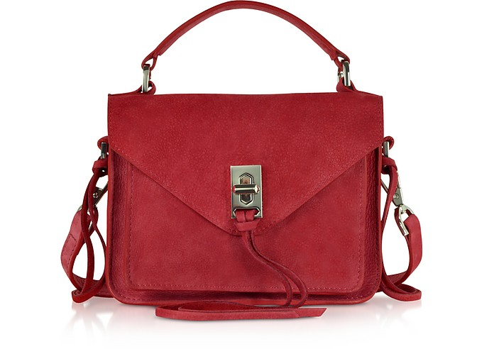 Leather Mini Darren Messenger Bag - Rebecca Minkoff