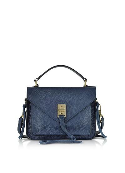 Glossy Leather Mini Darren Messenger Bag - Rebecca Minkoff