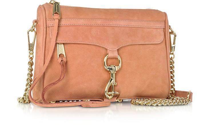 971b7f313035c Dusty Peach Leather Mini M.A.C. Crossbody Bag - Rebecca Minkoff. Sold Out