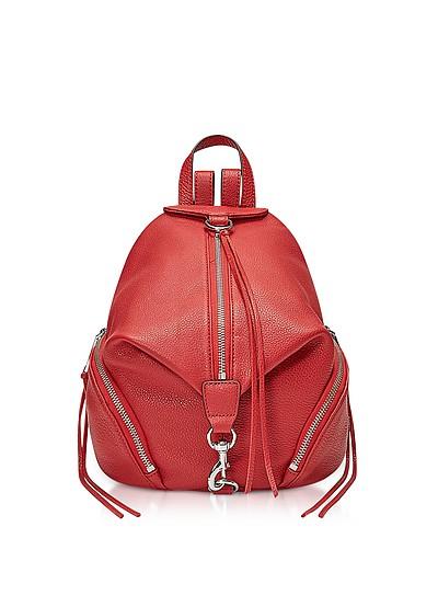 Red Scarlet Medium Julian Backpack - Rebecca Minkoff