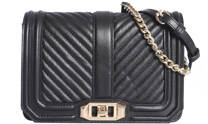 Small Chevron Quilted Bag - Rebecca Minkoff