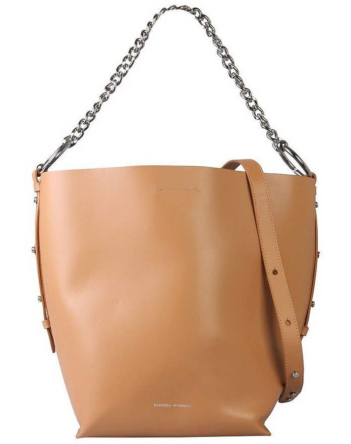 Leather Shopping Bag - Rebecca Minkoff