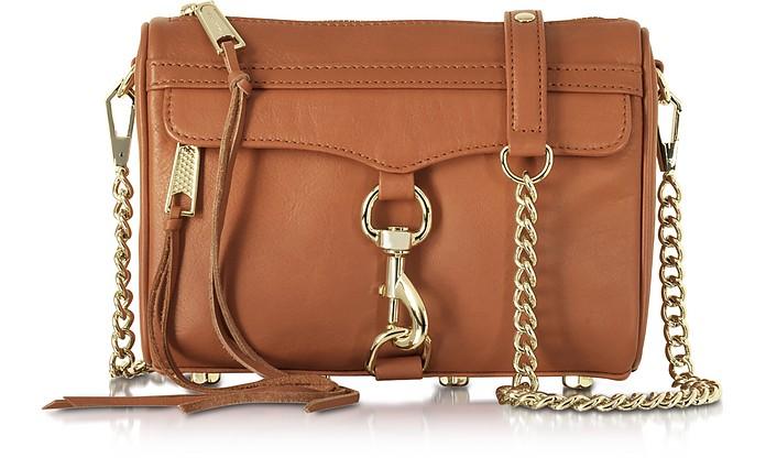 Mini Mac Amond Leather Crossbody Bag - Rebecca Minkoff