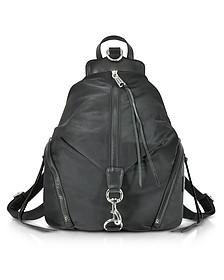 Black Julian Nylon Backpack - Rebecca Minkoff