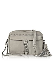 Gray Nubuck Large M.A.B. Camera Bag - Rebecca Minkoff