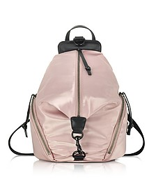 Dark Vintage Pink Julian Nylon Backpack - Rebecca Minkoff