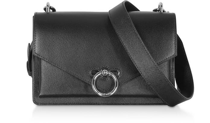 Jean Medium Caviar Shoulder Bag - Rebecca Minkoff